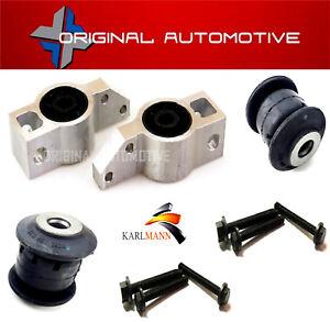 Se-adapta-a-VW-Golf-MK5-2004-gt-Frontal-Inferior-Wishbone-Brazo-De-Suspension-Bushs-amp-Pernos