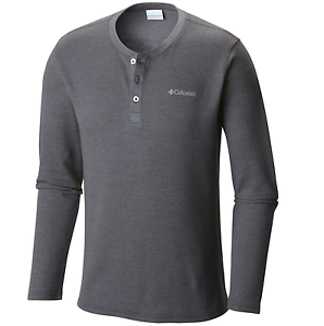 Columbia Men's KETRING™ HENLEY Waffle Long Sleeve Shirt  Big AS1184-058