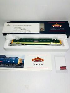 Bachmann-32525A-034-The-King-039-s-own-Yorkshire-Infantry-034-Class-55-Deltic-55-002-BR