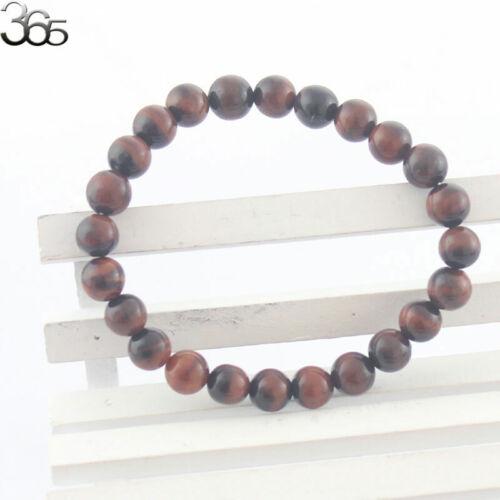 "10mm Multi Handmade Natural Gemstone Round  Beads Stretch Bracelet 7.5/"""