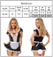 Indexbild 5 - Sexy Damen Dienstmädchen Krankenschwester Kostüm Dessous Unterwäsche Cosplay DE