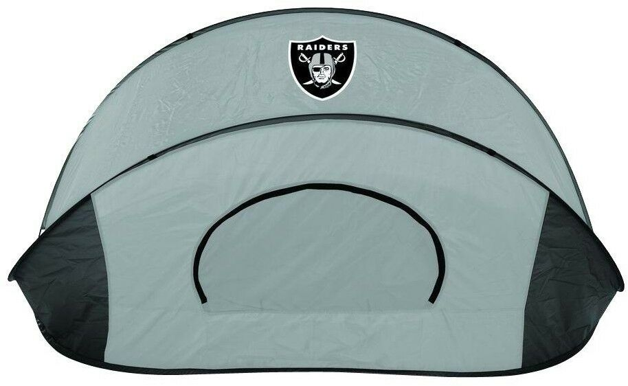 Picnic Time Sun Shelter Tent Portable Compact Oakland Raiders Outdoor Camping