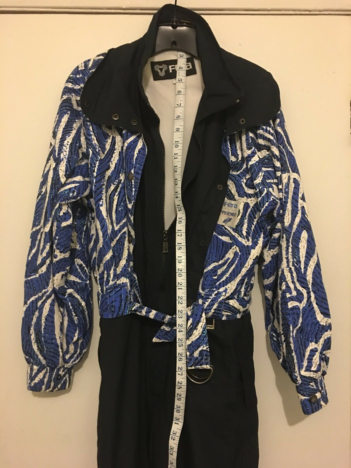 Women FERA PERMIA SKI SUIT Size 12 Snow Suit Jumpsuit Excellent condition
