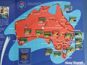 Australia-2000-Sydney-Olympic-Torch-Relay-NSW-Pin-16-coll-039-n-in-folder-Scarce