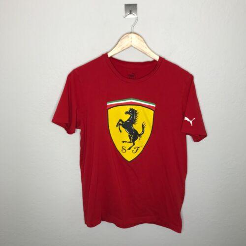 Puma Men S Ferrari Big Shield Hoodie Gem