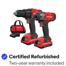 Craftsman CMCK200C2R 20V 2-Tool Combo Kit (1.3 Ah) Certified Refurbished