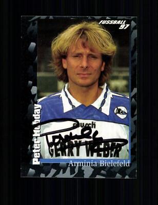 Peter Hobday Autogrammkarte Arminia Bielefeld 1996-97 Original A 193857
