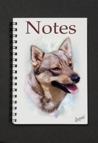 Swedish Vallhund Notebook//Notepad small image on every page by Starprint