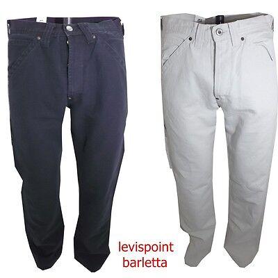 Pantaloni Jeans Lee Carpenter Da Uomo In Cotone Di Lino Nero Estivo 46 48 50 52 Per Migliorare La Circolazione Sanguigna