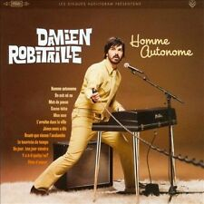 CD Homme Autonome Damien Robitaille Francias French 2009 NEW SEALED