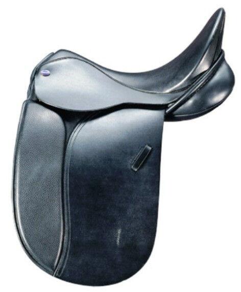 Euroriding Diamant Dressur 17,5 KW 3,5 Dressursattel Diamant Euroriding schwarz