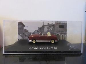 VOITURE-DE-ROVIN-D4-1950-IXO-1-43-ETAT-NEUF-EN-BOITE