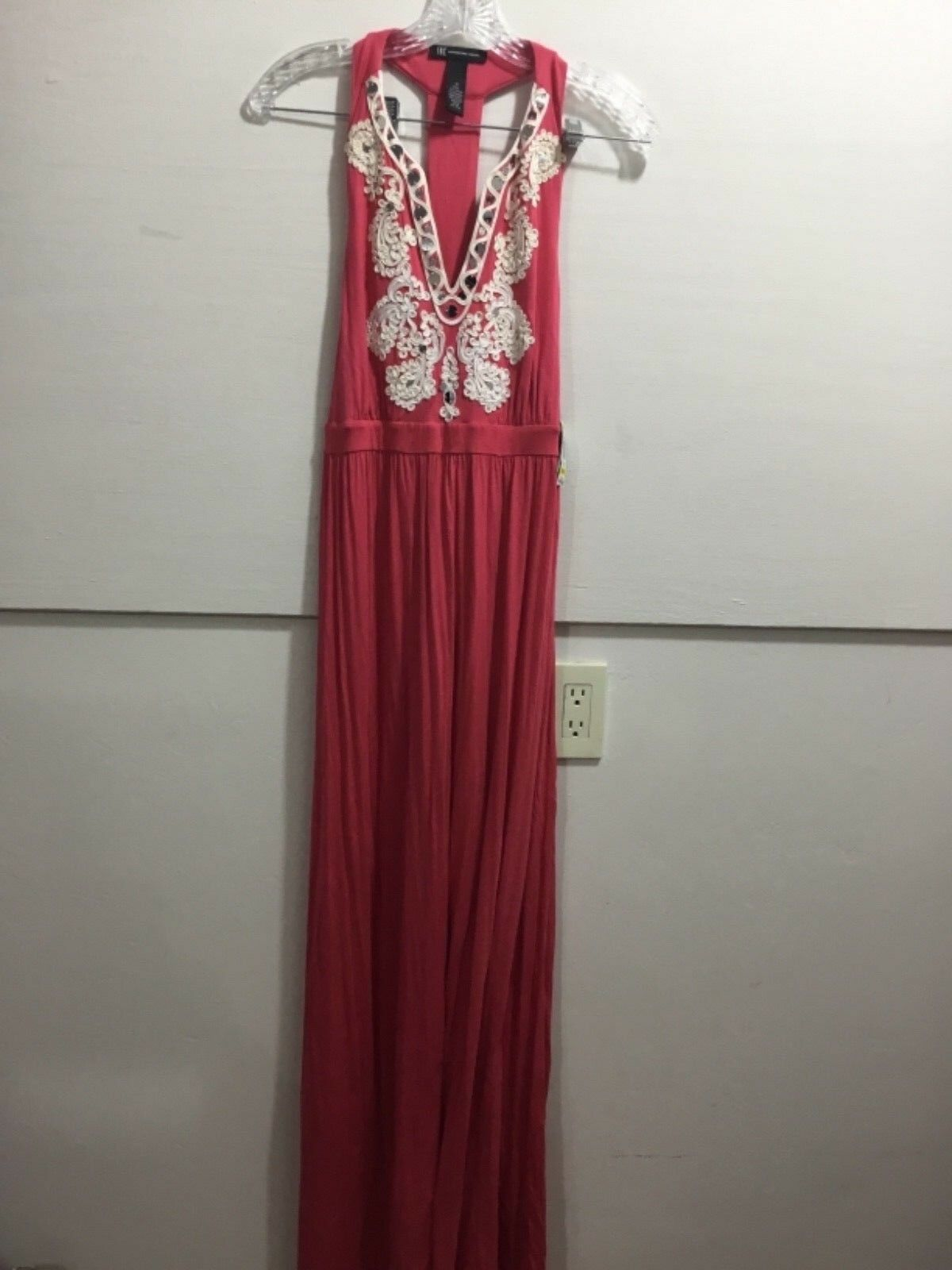 INC ladies medium NWT detailed gorgeous maxi dress