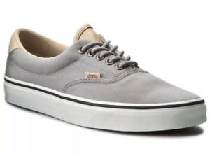 05e2cf436a Vans Mens 8 Womens 9.5 Era 59 Veggie Tan Frost Grey True White Shoes ...