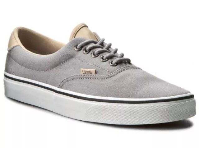 Vans Mens 8 Womens 9.5 Era 59 Veggie Tan Frost Grey True White Shoes  Sneakers 4f07cd8ba