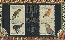 Mayreau Grenadines St Vincent 2011 MNH Birds of Paradise I 4v M/S Toucanet