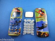 Front Back Cover Tastatur Nokia 3210 Gehäuse Handyschale Neu Fussball Housing