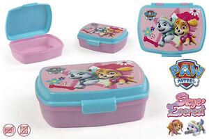 Paw-Patrol-Brotdose-Lunchbox-Brotzeitbox-Brotbox-Dose-Vesperbox-Kindergarten-NEU
