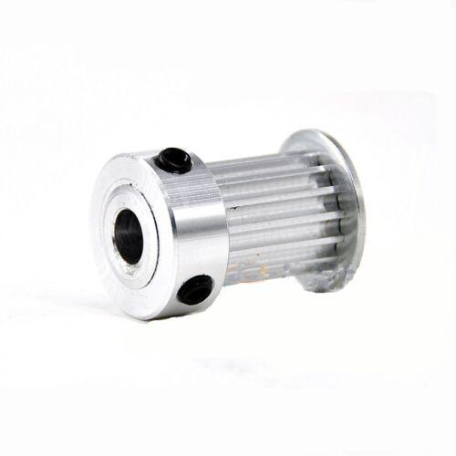 Qty1 MXL16T Timing Belt Pulley Gear Wheel Sprocket 6mm Bore For 10mm Width Belt