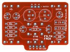 Filthy fábrica (Vertical Format) - Pro fabricado PCB para Bricolaje Stompbox construir