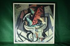 """Salvador Dali Still Life Watermelon 1924 Print Framed Non-Glare Glass 20"""" x 20"""""""