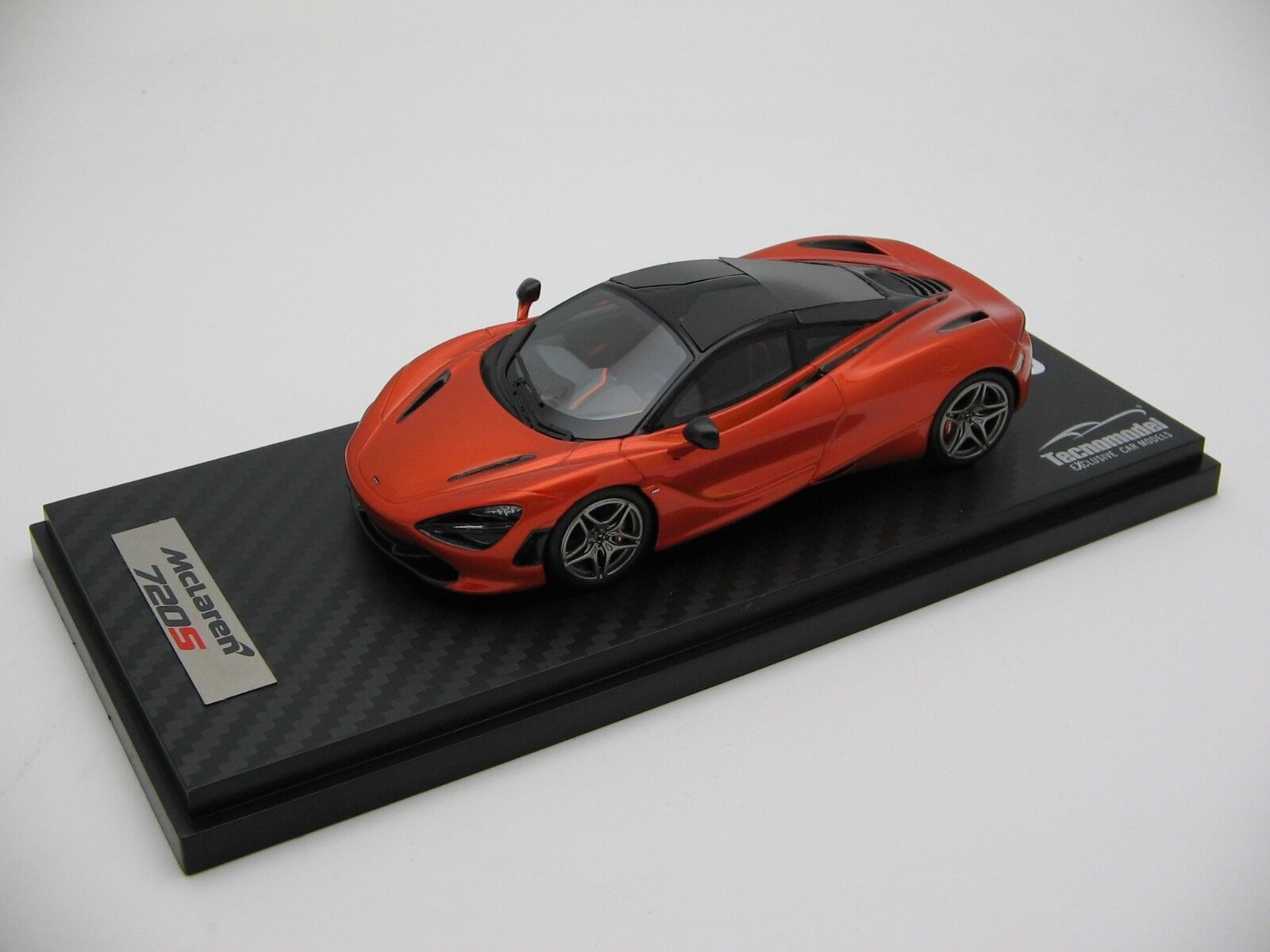 1 43 Treppe Tecnomodel Mclaren 720s Azores orange Géneva Autoshow Autoshow Autoshow 2017 07d895