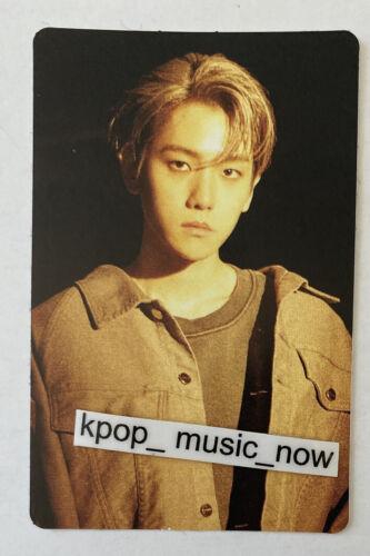 BAEKHYUN Official Matte Sticker Photocard X-exo Superm City Lights Album Kihno 1