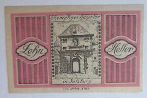 Notgeld 10 Heller Salzburgo Junio 1920 . (23582)