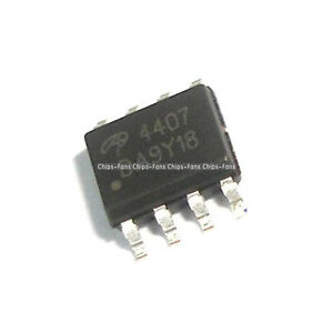 10PCS-4407-AO4407-AO4407A-SOP8-P-Channel-MOSFET-IC