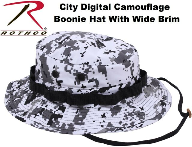 ee1721b5bcc City Digital Camouflage Military Wide Brim Tactical Bucket Hat Boonie Hat  55829