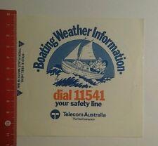 Aufkleber/Sticker: Boating Weather Information Telecom Australia (291016141)
