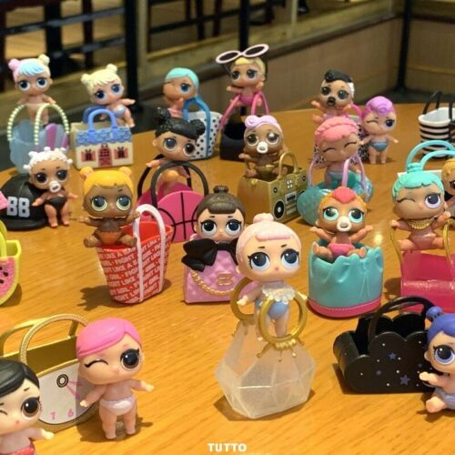 LOL Surprise LiL Sis Dolls Lil SPLASH QUEEN Kitty Queen Bee & bag color change