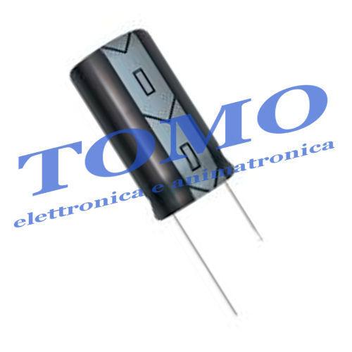 Condensatore elettrolitico 22uF 100V 105° 5 pezzi CE-22UF-100