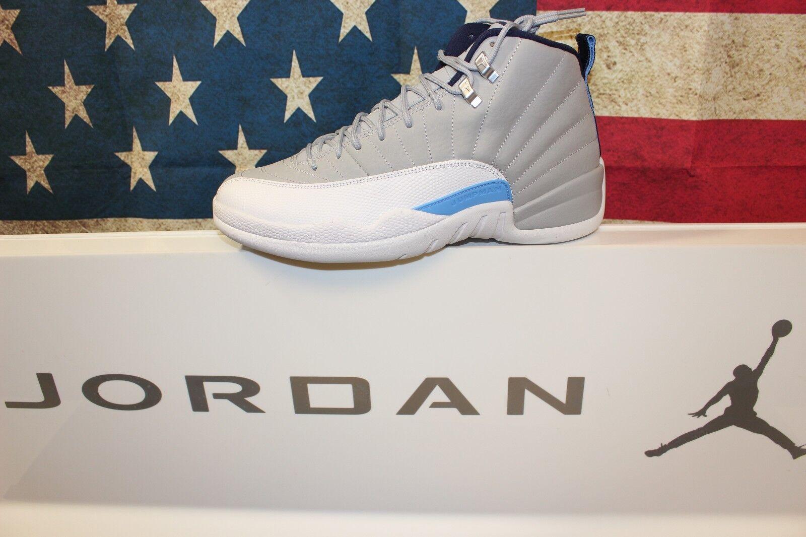 Nike jordan retro 12 università blu 130690-007 nuovo sergente dimensioni