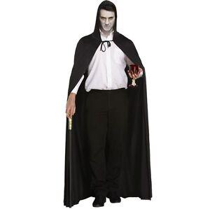 Unisex-Halloween-Con-Capucha-Disfraz-Capa-Vampiro-Segador-Talla-Unica-Nuevo