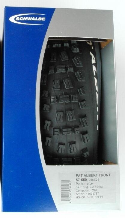 Schwalbe Fat Albert Front Performance Folding 26 X2.25 Tire