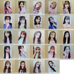 Details about IZ*ONE HEART*IZ 2st Mini Album Violeta ver  Photocard Select  IZONE HEARTIZ