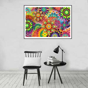 Colorful-Abstract-Background-Canvas-Poster-Print-Art-Picture-Home-Wall-Decor