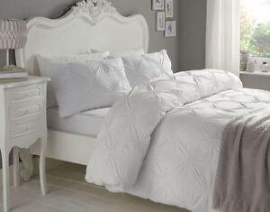 r schen kreise wei 180 fadenzahl 100 cotton einzel bettw sche ebay. Black Bedroom Furniture Sets. Home Design Ideas