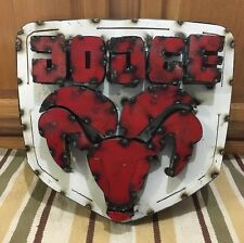DODGE METAL BAR WALL DECOR CHARGER CHALLENGER TRUCK RAM WELD VINTAGE STYLE