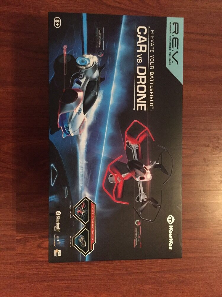 *Price drop NEW IN BOX Wow Wee REV Air CAR VS DRONE ROBOTIC ENHANCED VEHICLE