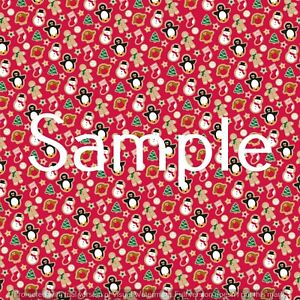 gingerbread-printed-canvas-fabric-A4-sheet-hair-bow-making-design-craft-material