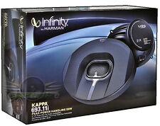 "Infinity KAPPA 693.11i 220W 6 x 9 ""  3-Way Kappa Series New Coaxial Car Speakers"