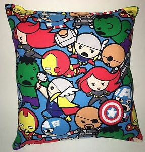 Kawaii-Avengers-Pillow-Marvel-Hulk-Iron-man-Captain-America-Thor-Nick-Fury