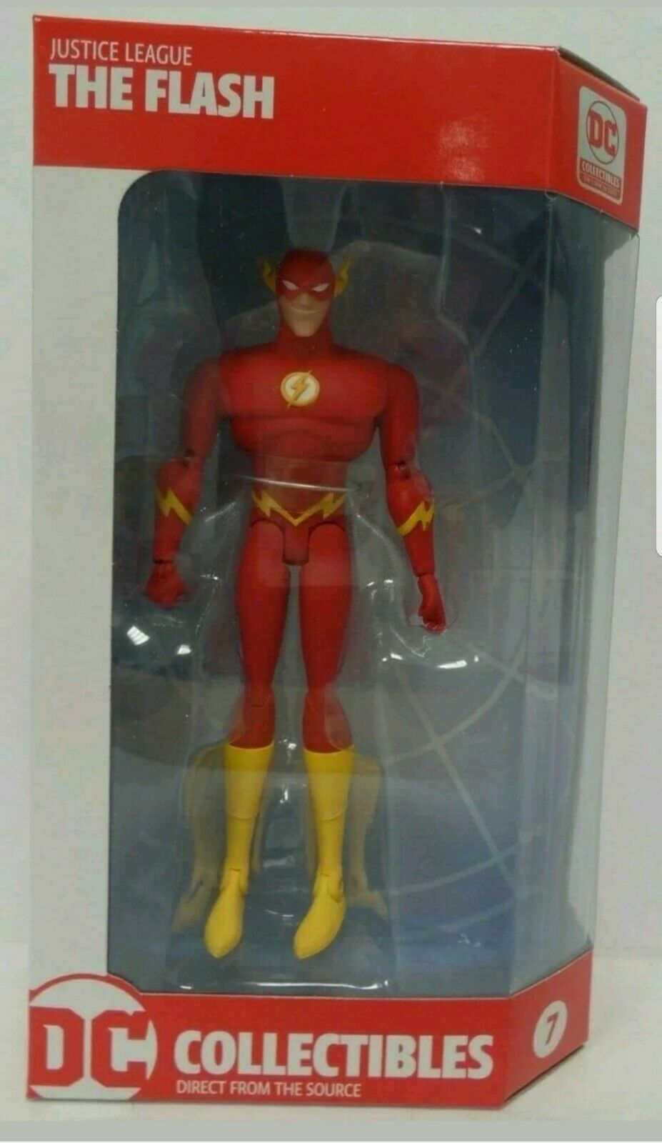 Justice League Animated The Flash Figure DC Collectibles DCU Exclusive