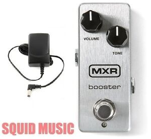 mxr booster mini guitar boost effects pedal m293 micro amp power supply m 293 710137101333 ebay. Black Bedroom Furniture Sets. Home Design Ideas