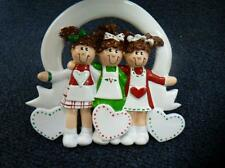 Rudolph & Me  3 Friends / Sisters Christmas Ornament (o2168)