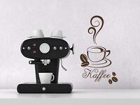 Wandtattoo Wandsticker Sprüche Kaffee | Kaffeesticker | Aufkleber Küche Büro