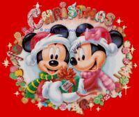 Disney's mickey And Minnie's Christmas Cross Stitch Pattern Cd