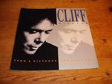 Cliff Richard 1988 30th Anniversary Tour Souvenir Brochure with Ticket & Photo'